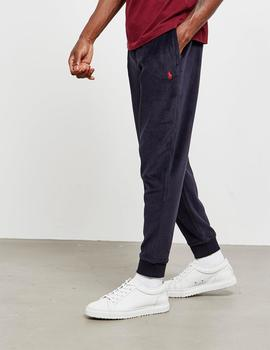 PANTALÓN CHANDAL POLO RALPH LAUREN VELOUR NAVY