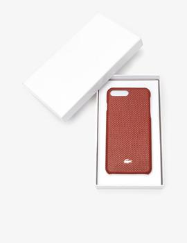 FUNDA DE PIEL LACOSTE PARA IPHONE 8 PLUS