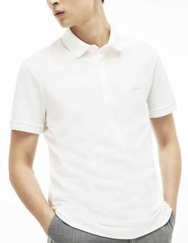 POLO LACOSTE PARIS REGULAR FIT BLANCO