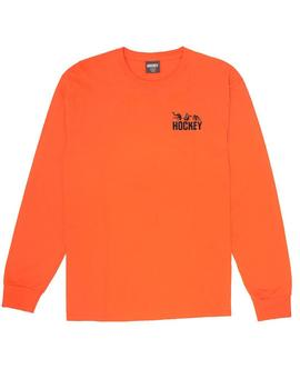 CAMISETA HOCKEY FALL GUY L/S TEE ORANGE