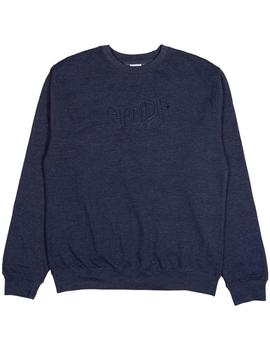 SUDADERA RIPNDIP GREAT WAVE CREW NAVY