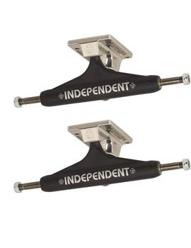 EJES SKATE INDEPENDENT 159 BAR CROSS MATTE BLACK
